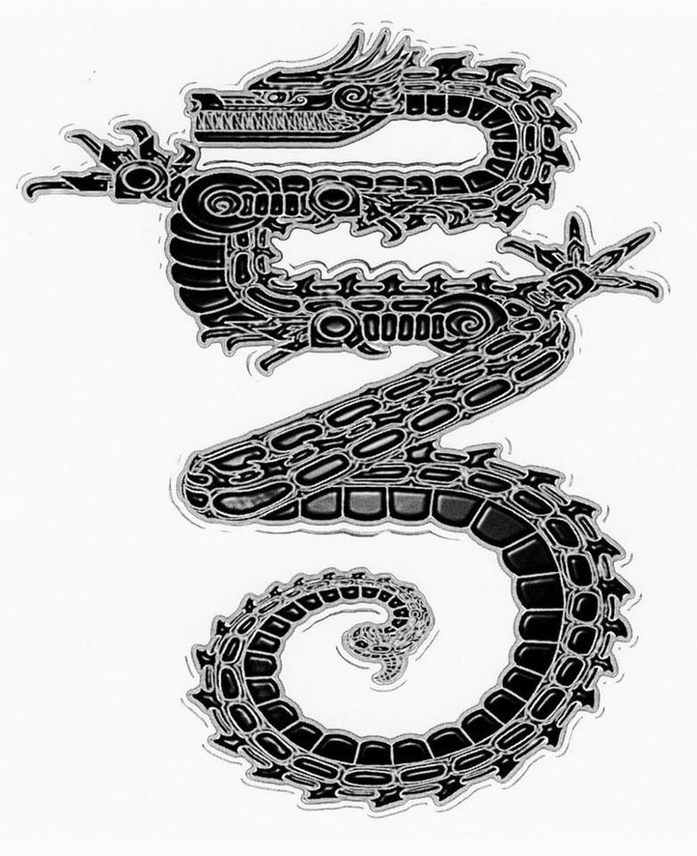 23 Dragon - SP23 - Spiral Tribe