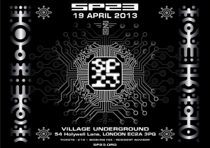 London Flyer - include sp23 gallery page