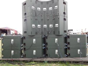 Noise Control Audio - Teknival corner stack back
