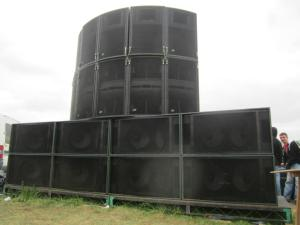 Noise Control Audio - Teknival corner stack front